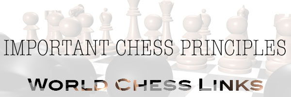 Important chess principles